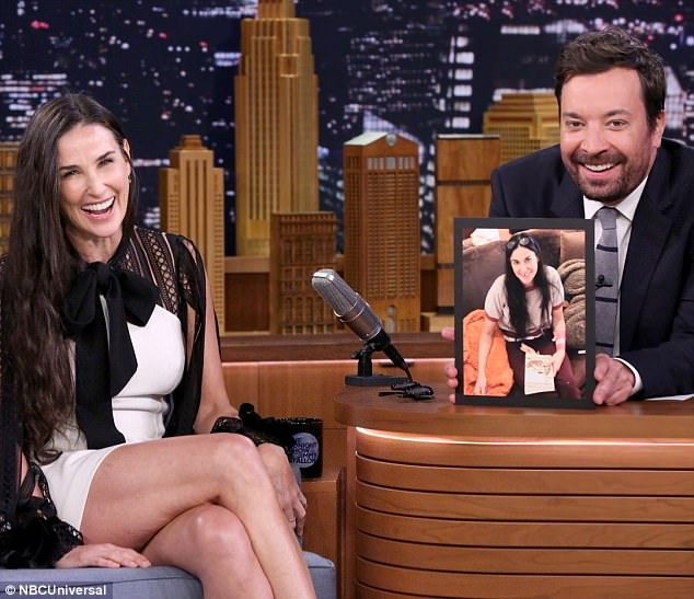 Did you see Demi on the Tonight show? Teeth sitch no good!